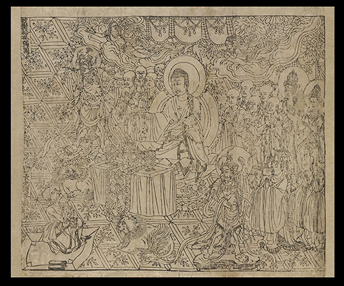 Diamond Sutra. Tang dynasty, 868, ink on paper. London, British Library, Or.8210/P.2. © The British Library Board
