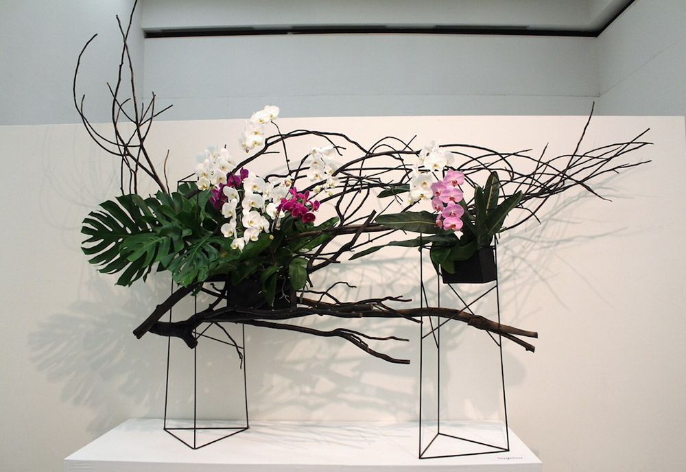 Ikebana by the Sogetsu School, Los Angeles. Image courtesy of the Japanese American Community and Cultural Center, Los Angeles